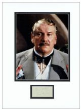 Peter Ustinov Autograph Signed - Poirot